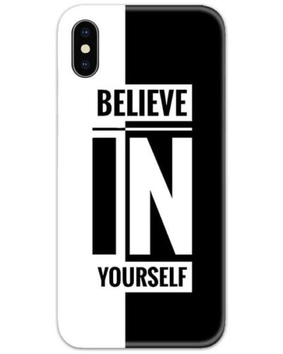 Believe in Yourself Slim Case Back Cover