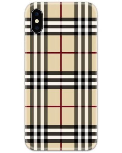 Burberry Nova Check Slim Case Back Cover