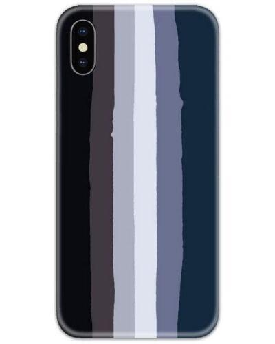Rainbow Dark Slim Case Back Cover