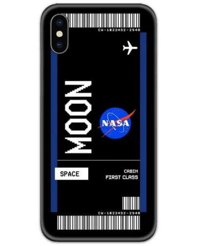 Moon Mission Slim Case Back Cover