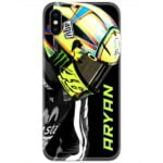Valentino Rossi 46 Slim Case Cover with Your Name