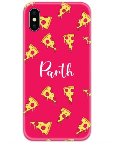 Pizza Lovers Slim Case Cover with Your Name