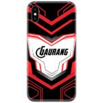 Avengers Suit Black Slim Case Cover with Your Name