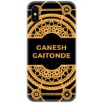 Sacred Games Slim Case Cover with Your Name