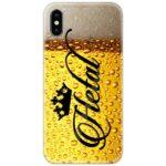Beer Custom 4D Name Case