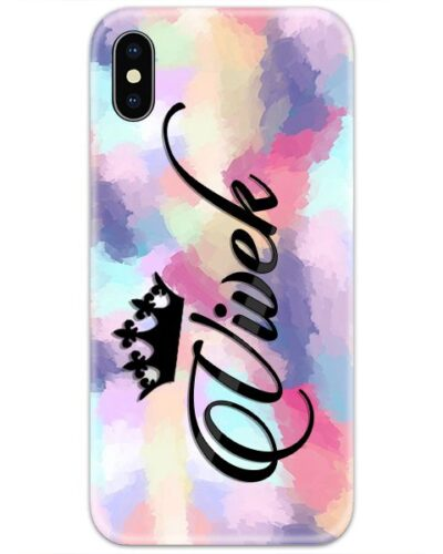 Colorful Dye Strokes Custom 4D Name Case