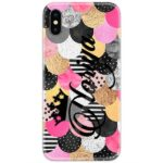 Round Shape Abstract Custom 4D Name Case