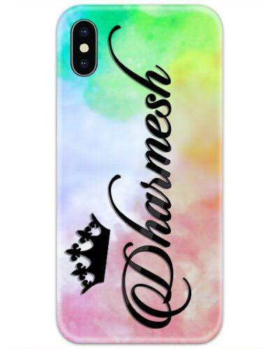 Colorful Dye Shades Custom 4D Name Case