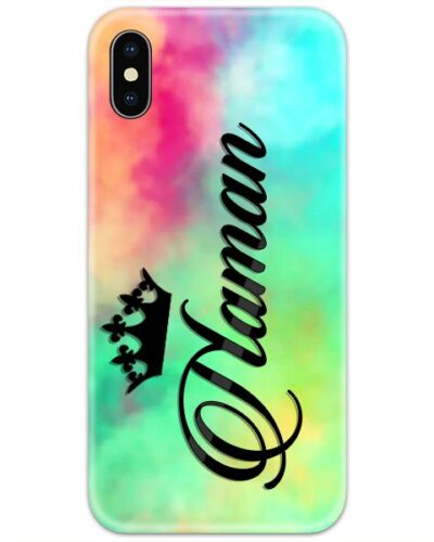 Colorful Dyed Shades Custom 4D Name Case