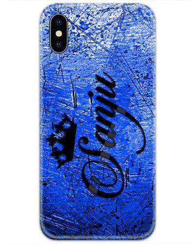 Blue Grudge Custom 4D Name Case