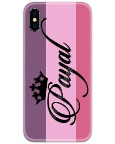 Purple Jam Custom 4D Name Case