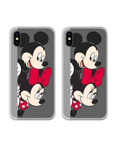 Mickey Minnie Cute Couple Case Back Covers