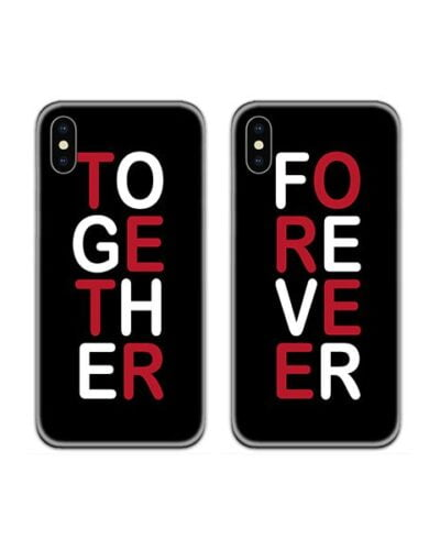Together Forever Couple Case Back Covers