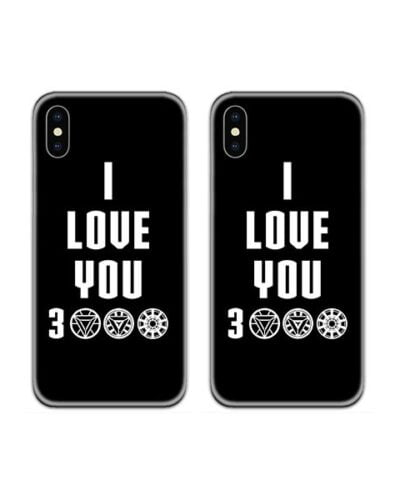 I Lover You 3000 Couple Case Back Covers