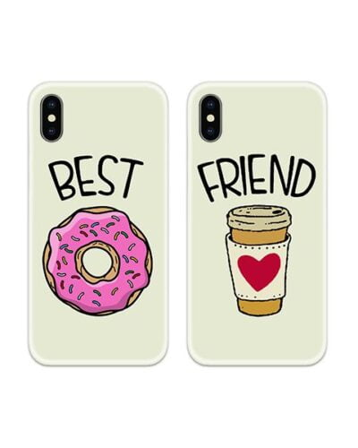 Best Friend Couple Case Back Covers
