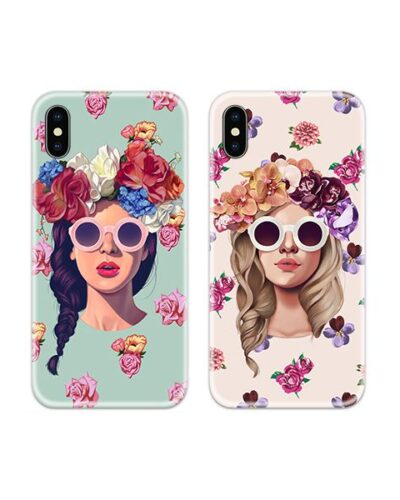 Girls Sunglasses Couple Case Back Covers