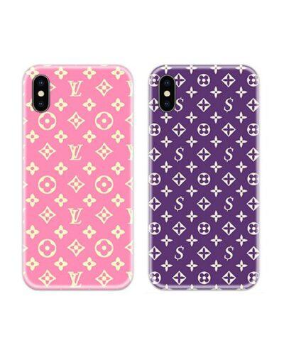 Louse Vuitton Couple Case Back Covers