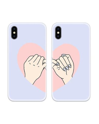 Pinky Promise Couple Case Back Covers