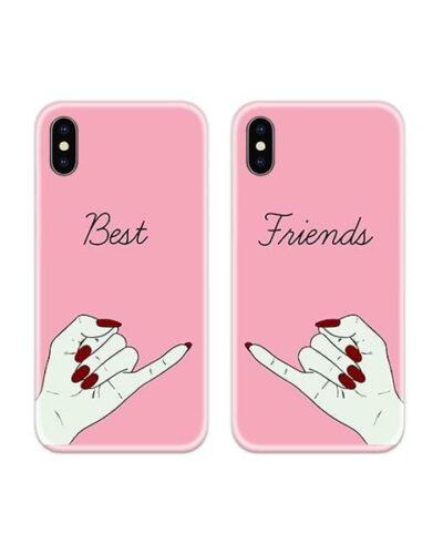 Best Friends Couple Case Back Covers